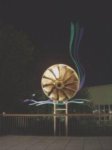 Industrie-Skulptur