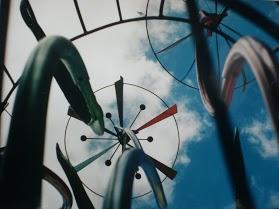 Windspiel-Kunst-Kreisverkehr