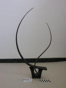 Bronze - Schmiedeeisen Skulptur, Klang Skulptur, Bitte Berühren