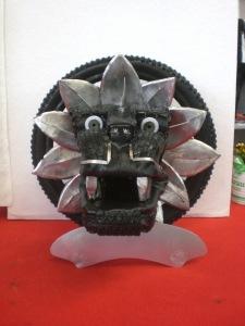 tyre art trophy